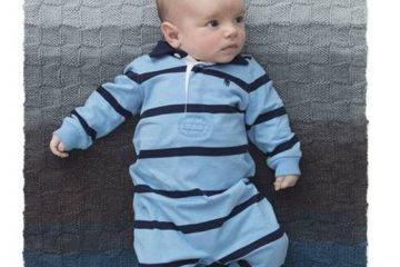 שמיכת תינוק הכי קלה בעולם בשתי מסרגות וקייקס