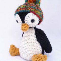 פינגווין מתוק במסרגה אחת